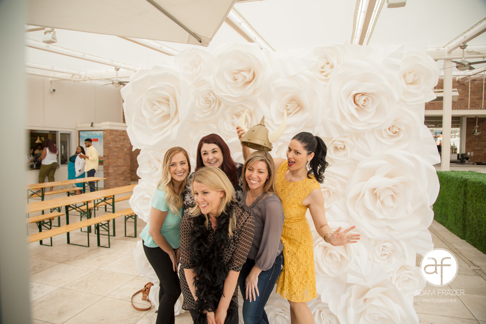 Paper Flower Girls and Shutterbooth Fun!