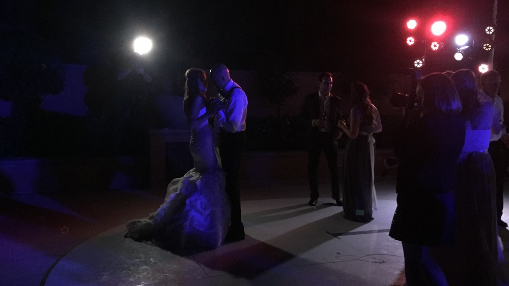 Guests joined the new Mr. & Mrs. Oliver on the floor and kept the party going to the sounds of The Lucky Devils Band.