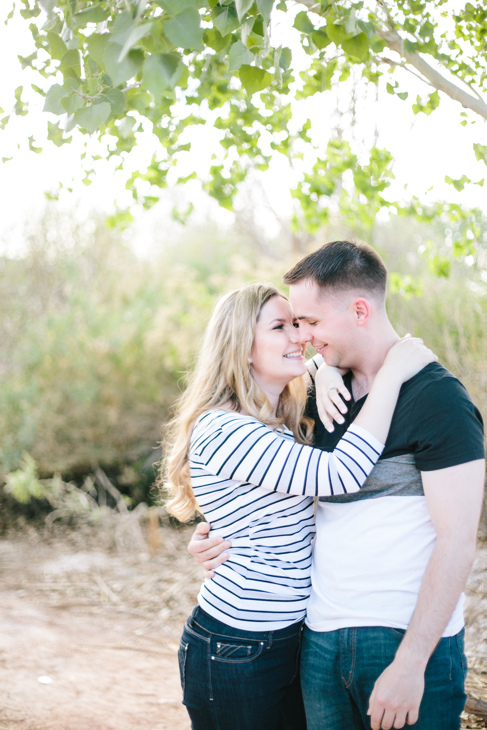 Karolina & Ross Griswold - Engagement Photos by Meg Ruth