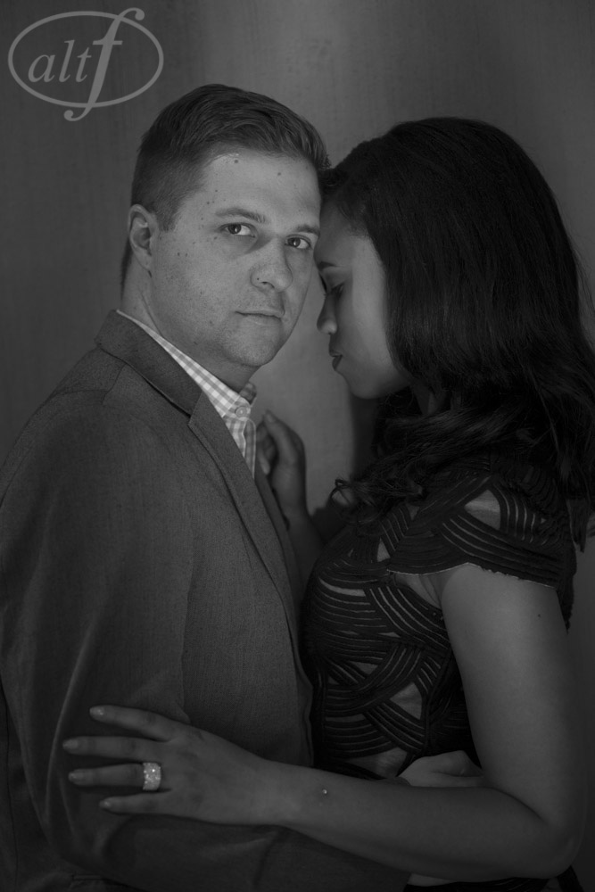 Sexy, non-traditional engagement photos in Las Vegas.  Photos by Altf Photography. Las Vegas Wedding Planner Andrea Eppolito.