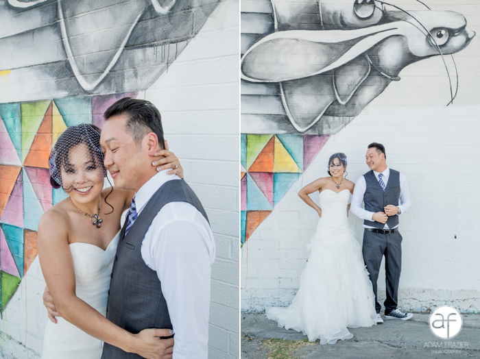 Abstract Art Wedding Photos