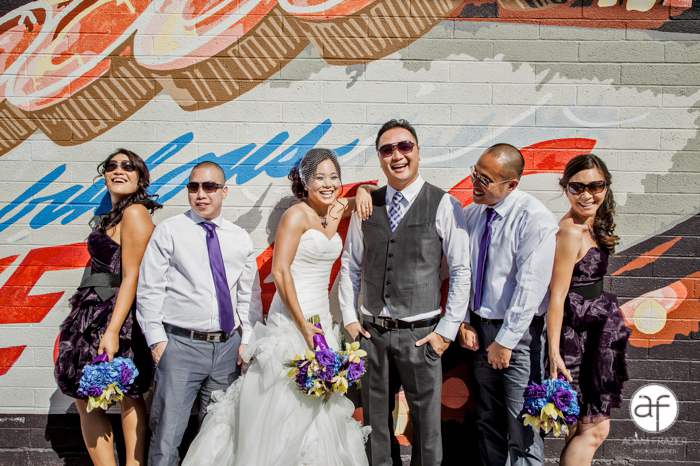 Cool Bridal Party Pictures