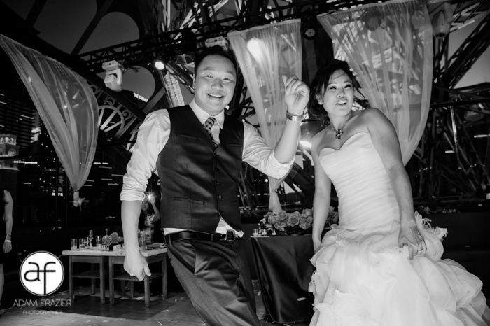Dancing at a Las Vegas wedding