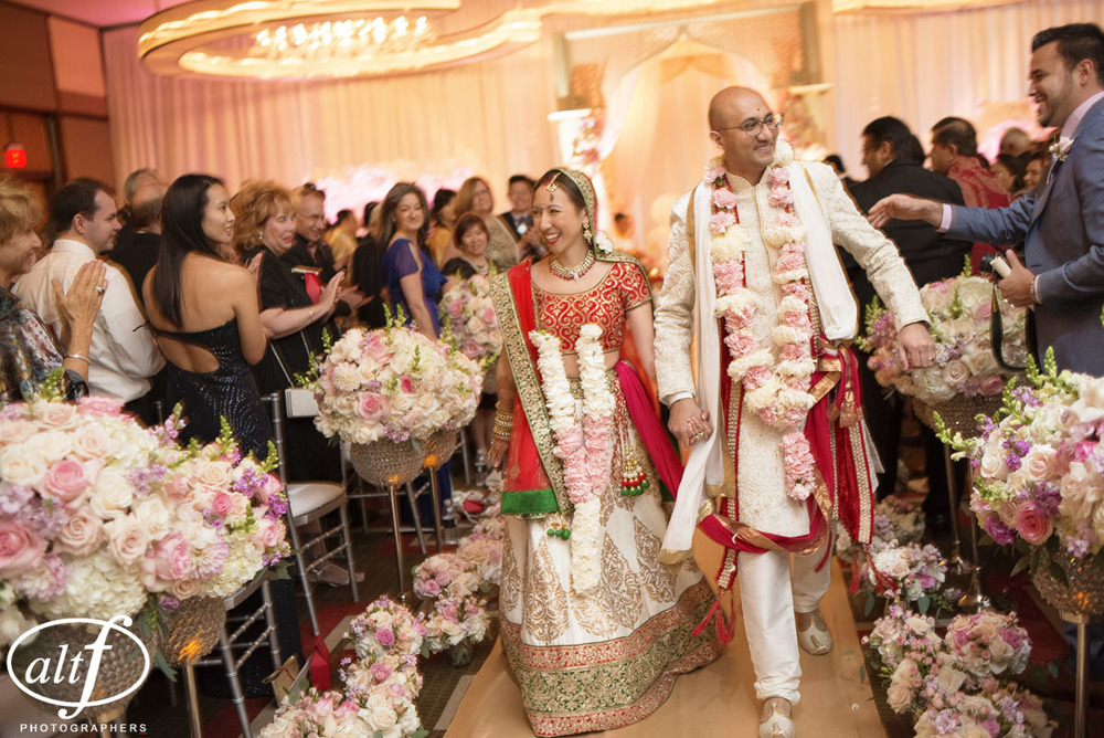 Indian Wedding at the Mandarin Oriental.  Las Vegas Wedding Planner Andrea Eppolito.  Photo by Altf.