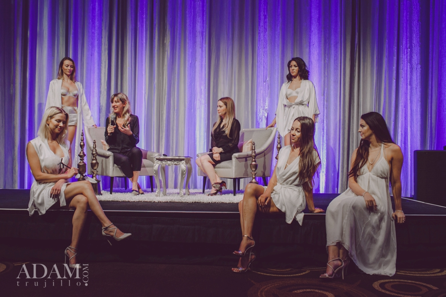 Las Vegas Wedding Planner Andrea Eppolito shares photos of models in Kiki de Montparnasse; taken at the WIPA Meeting of June 2015.