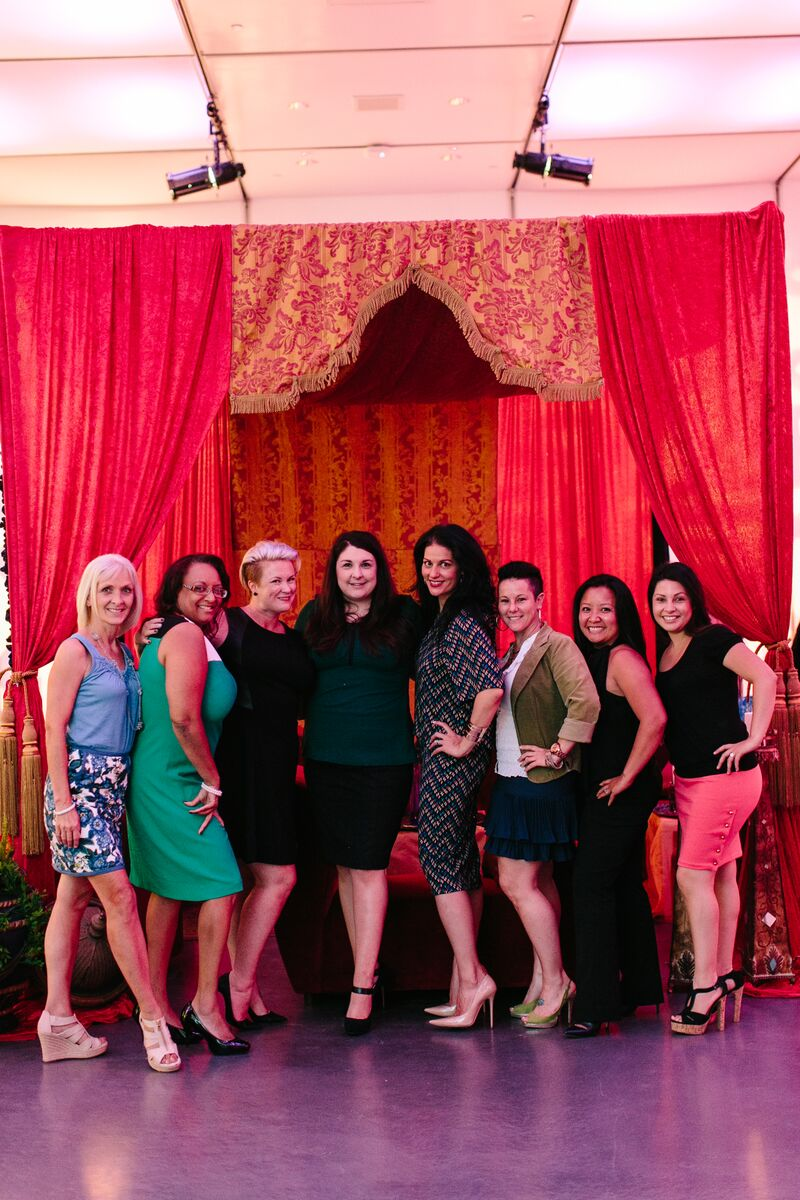 Las Vegas WIPA Board President Andrea Eppolito and the Team