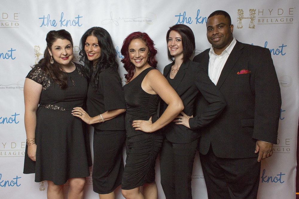 Thank you to my colleagues who came out to support me, who worked the registration desk, and who partied along side the rest of WMBA!  From left to right:  Angelica McDonnell of Green Orchid, Andrea Eppolito, Courtney Broadbent of MEET Las Vegas, Paloma Johnson, and Rodney Arnett of The Westin.