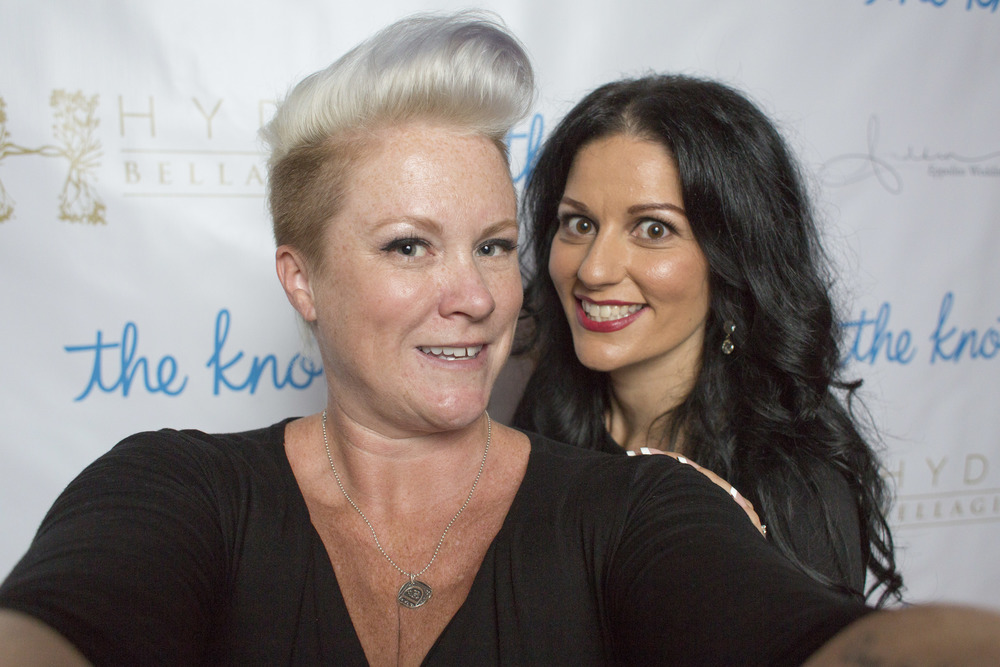 Las Vegas Wedding Planner Andrea Eppolito with Alt F Photography Owner Dalisa Cooper.