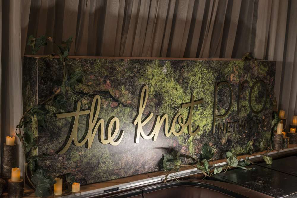 We brought the forest insides at The Knot Pro Party at Hyde Bellagio.  Photo by Altf.com  Event Planning and Design by Las Vegas Wedding Planner Andrea Eppolito.  Decor by By Dzign.