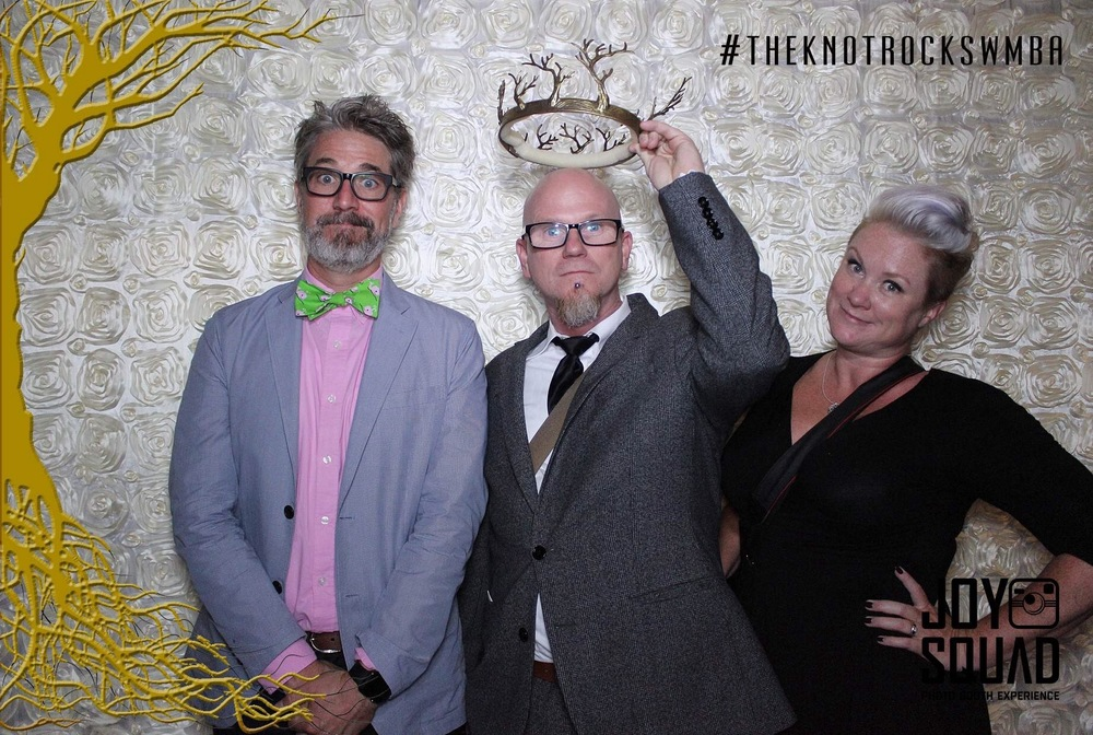 Photographers do silly things.  The Knot Pro Party at Hyde Bellagio.  Photo by Altf.com  Event Planning and Design by Las Vegas Wedding Planner Andrea Eppolito.  Decor by By Dzign.
