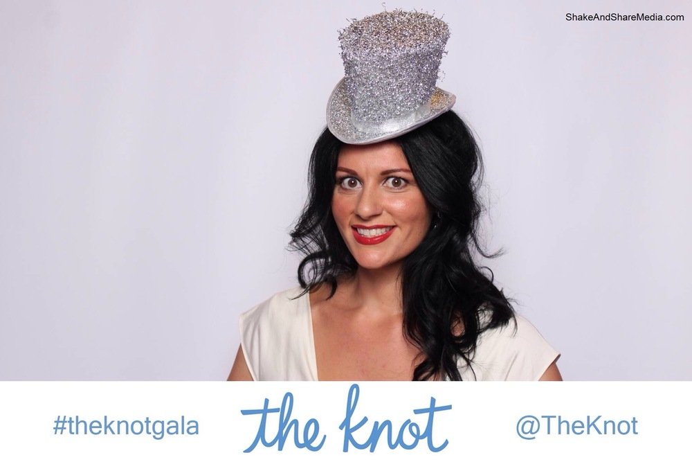 Premiere Las Vegas Wedding Planner Andrea Eppolito at The Knot's Annual Gala.  New York Public Library.
