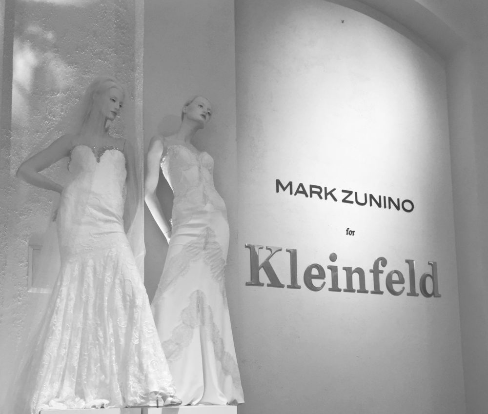 While in New York for Bridal Fashion Week I popped into Kleinfeld for a bride's final fitting and snapped a few behind the scenes photos.  Bridal Fashion Week 2016 Fall Collections.  Photo by Las Vegas Wedding Planner Andrea Eppolito.