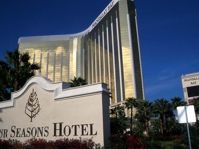 Stay at Four Seasons and Mandalay Bay for your wedding.