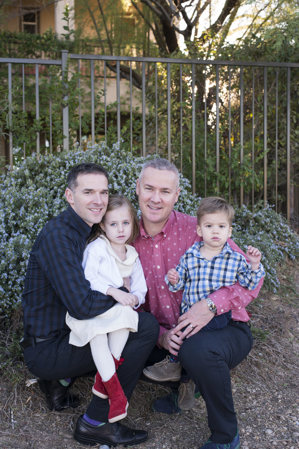 Family of Four; two dads, a daughter, and a son. Two grooms planning a same-sex wedding after fighting for marriage equality.  Las Vegas Wedding Planner Andrea Eppolito.  Photo by www.altf.com.
