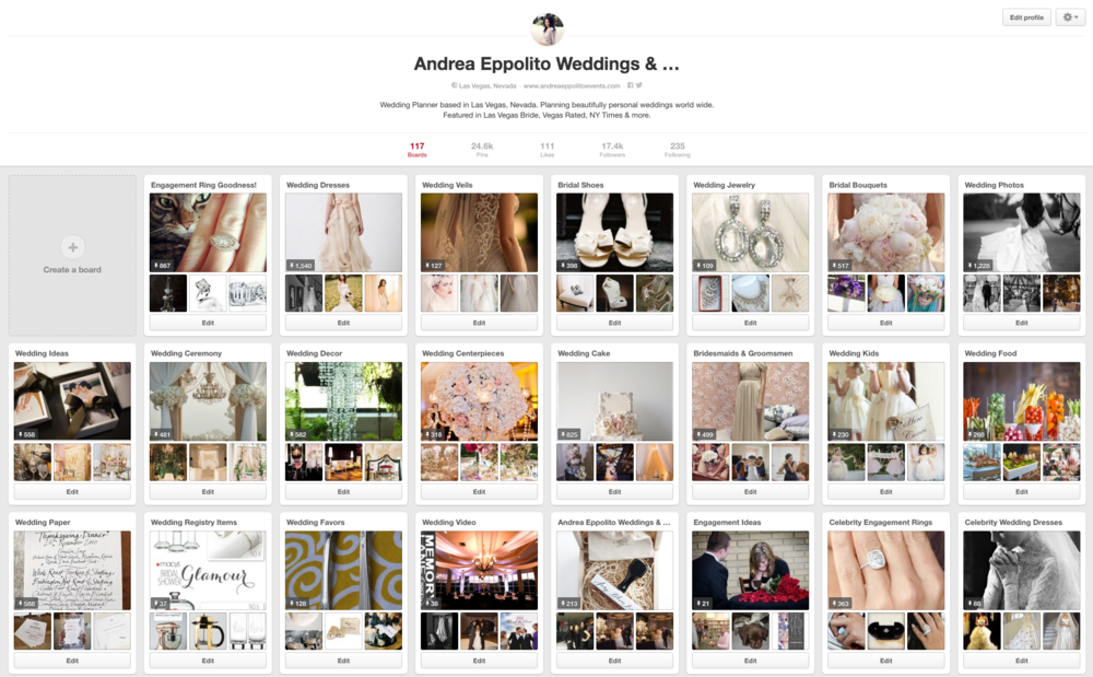 Which do brides prefer; Instagram or Pinterest? Are grooms engaging with you on Pinterest?