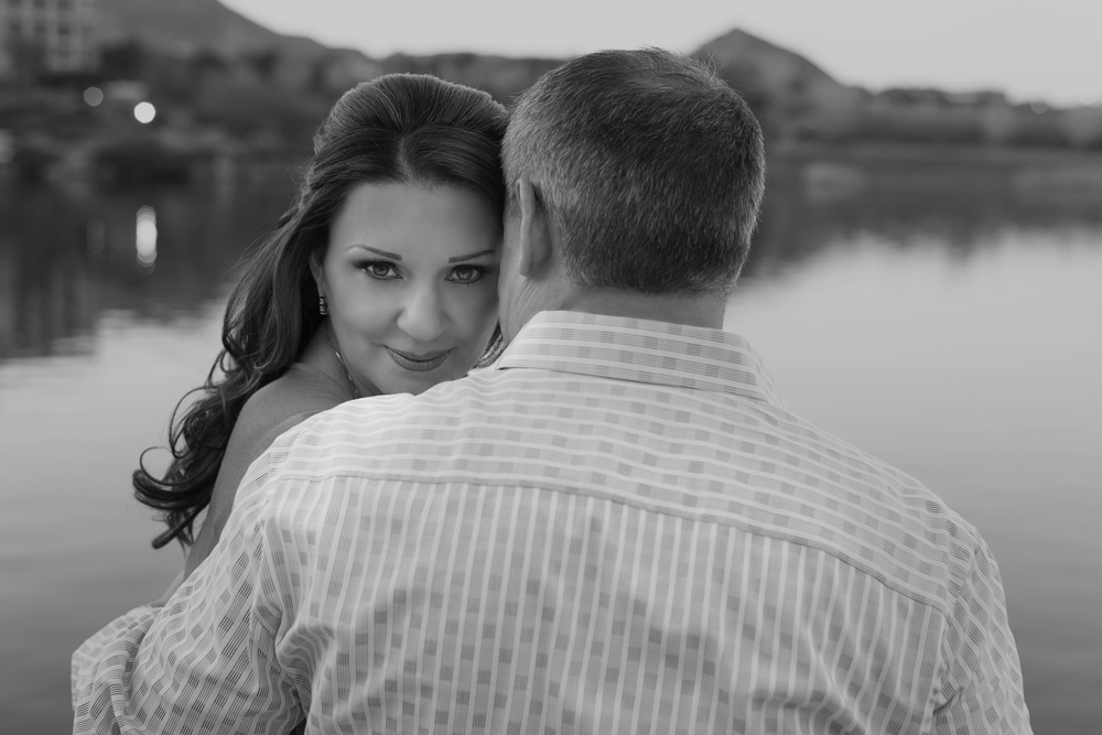 Las Vegas Wedding Planner and AltF Photo Engagement Photos of Scott and Lisa