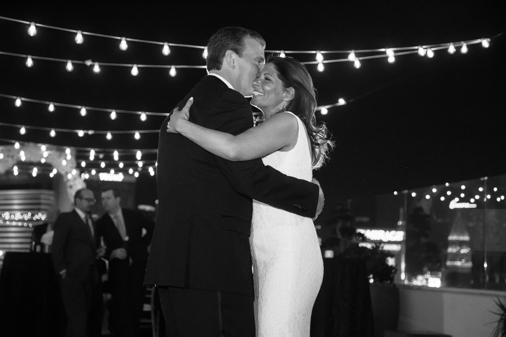 The first dance.    Thank you to my friends at Caesars and The Nobu Hotel for all of your support and for allowing me to do such an intimate wedding in the Nobu Villas.  And to my creative partners, I truly could not have done this without you!  Always....