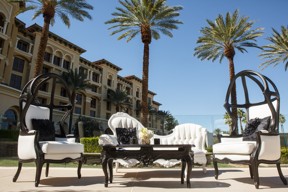 Las vegas Wedding Planner Andrea Eppolito showcases weddings at Green Valley Ranch.  Decor by Destinations by Design.