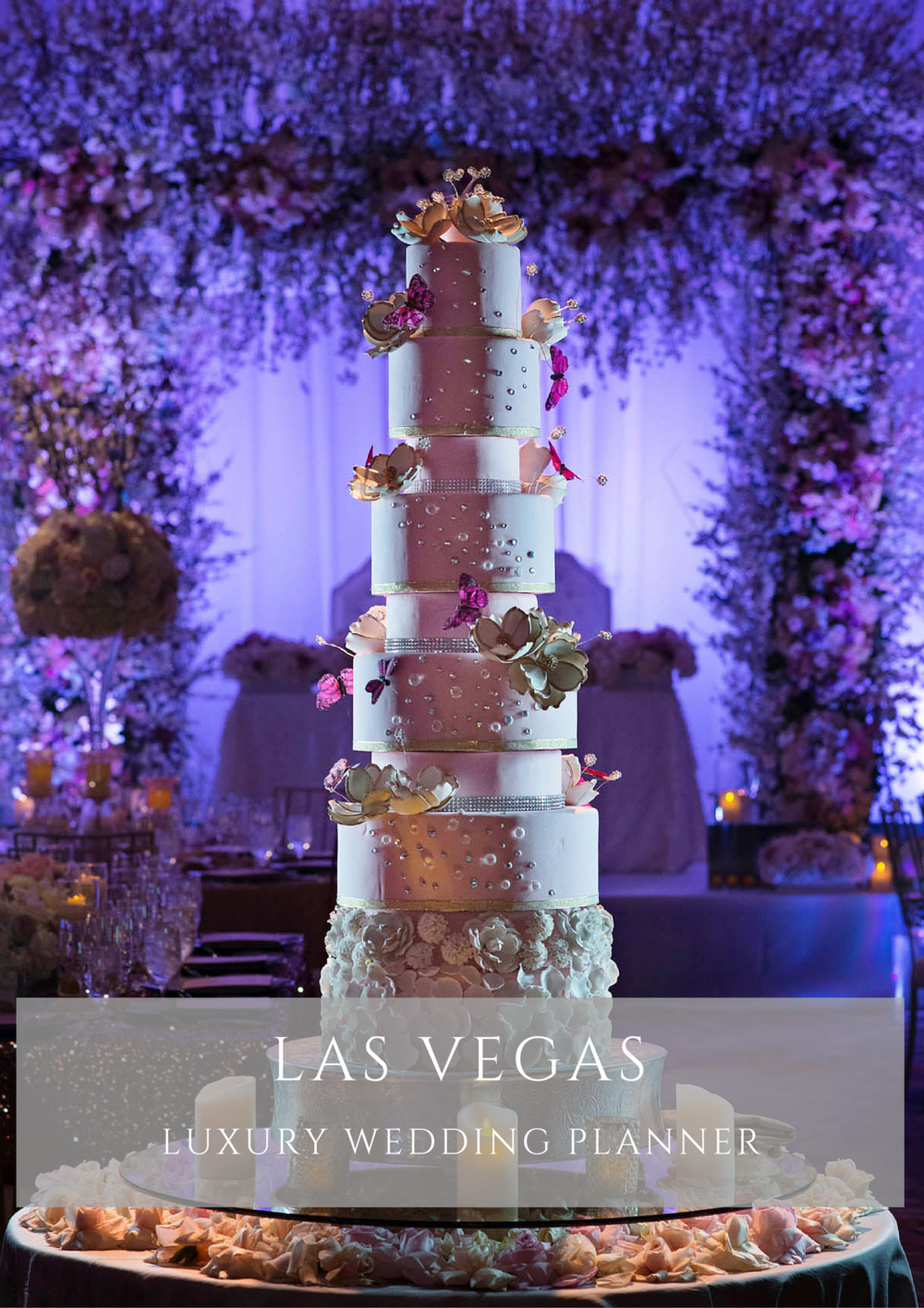 Las Vegas Wedding Planner.  AEE is the premiere luxury wedding planner in Las Vegas.  She is the first choice for socialites, celebrities, and the couple that wants to feel like one in a million!