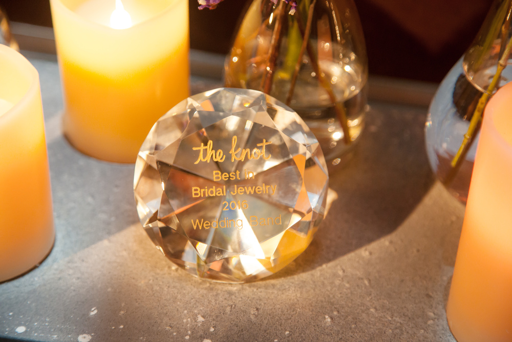 The Knot Jewelry Awards. Celebrated Las Vegas Wedding Planner Andrea Eppolito designed and hosted The Knot Rocks JCK 2016 Party.