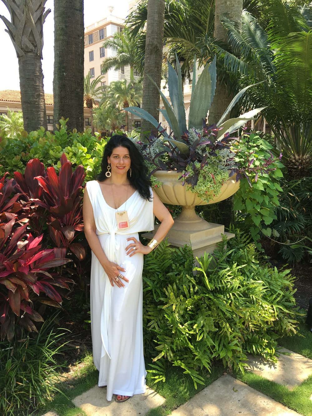 Las Vegas Wedding Planner Andrea Eppolito at the Engage White Party