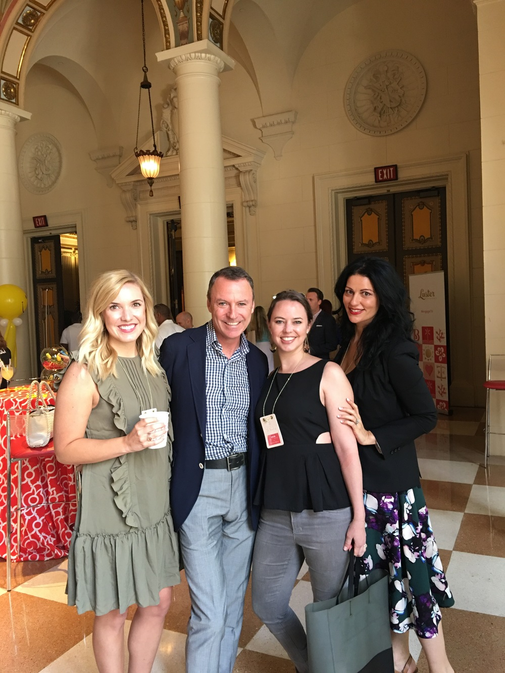 Andrea Eppolito with Colin Cowie and Team - Celebrity Wedding Planner