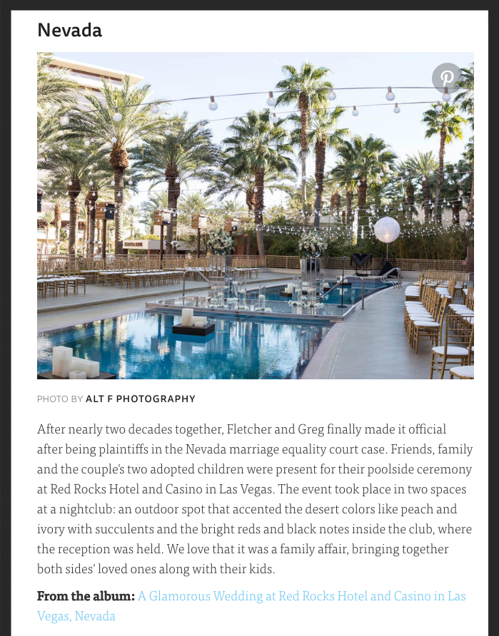 The Knot names Las Vegas Wedding Planner the top 50 out of 50!