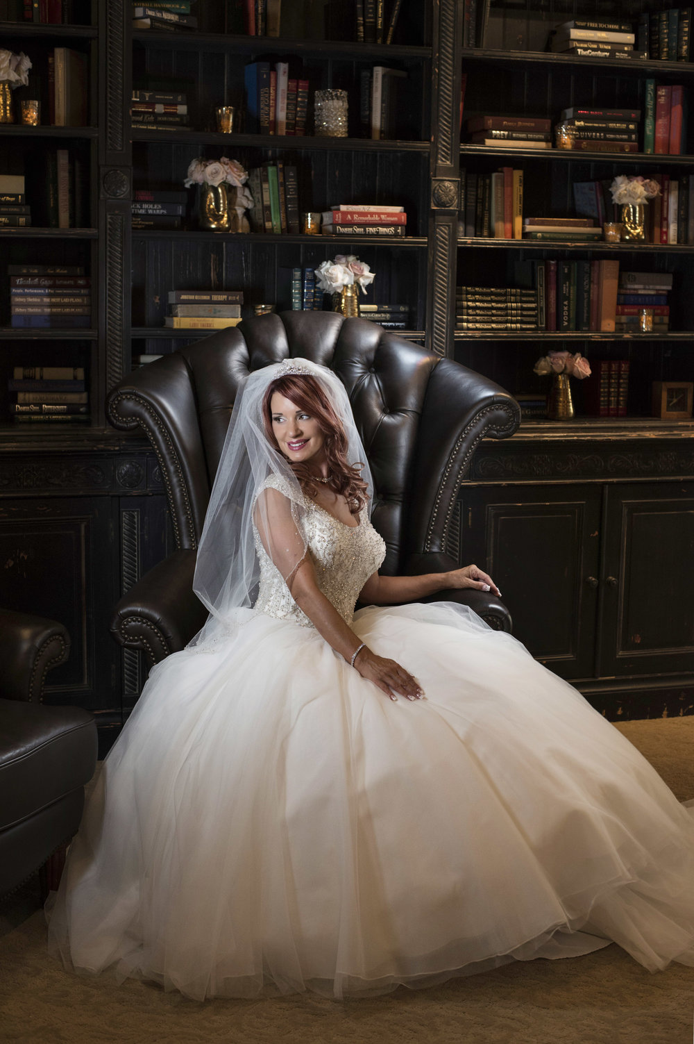 Bride in Sottero and Midgle. Luxury Las Vegas Wedding Planner Andrea Eppolito.  Image by AltF Photography.
