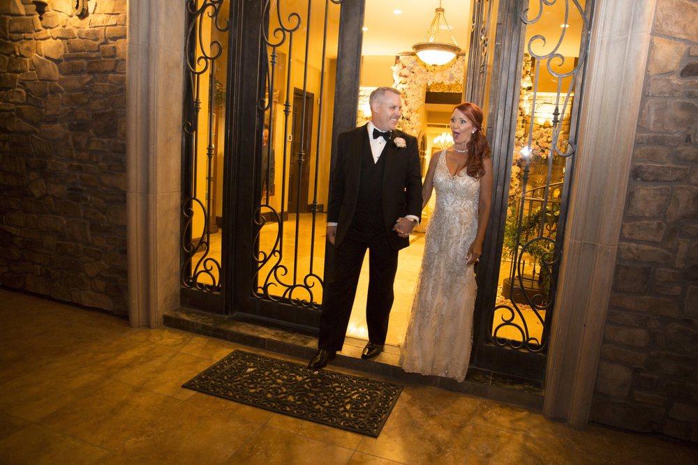 Surprise from groom to bride!  Luxury Las Vegas Wedding Planner Andrea Eppolito.  Image by AltF Photography.