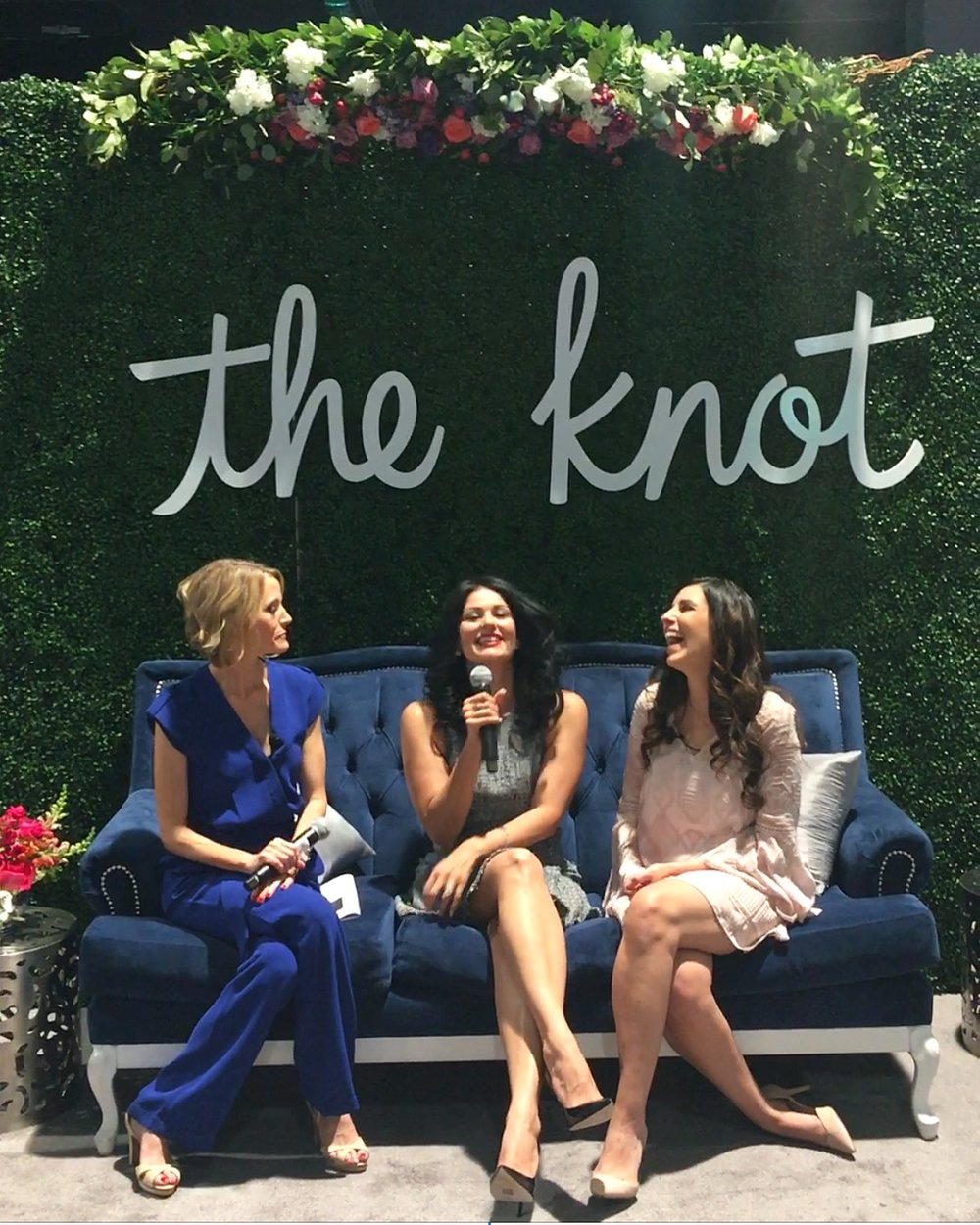 Luxe Las Vegas Wedding Planner Andrea Eppolito speaks with The Knot Live! during Wedding MBA Las Vegas 2017.