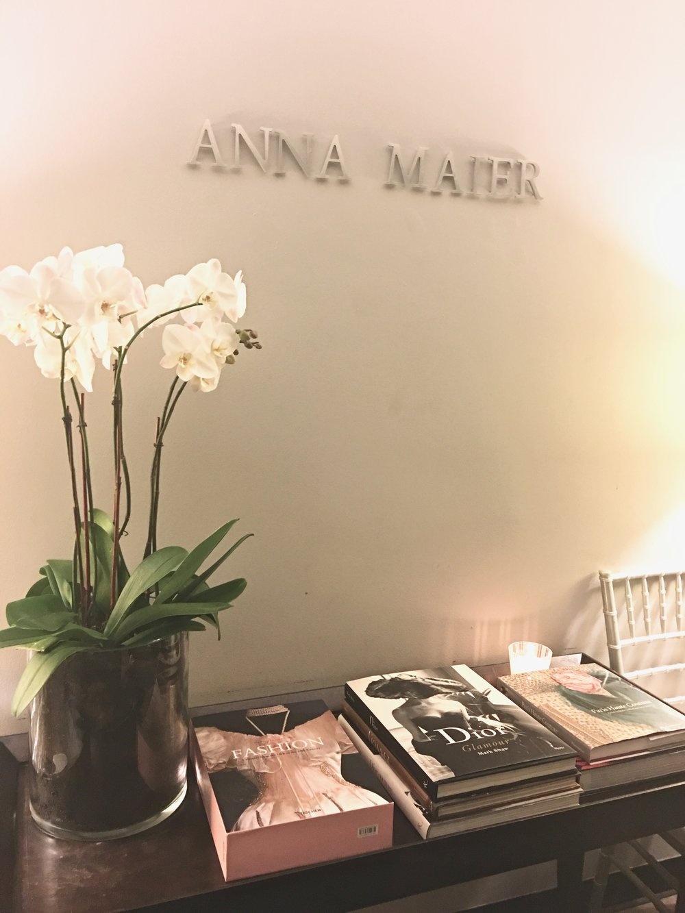 Las Vegas Wedding Planner Andrea Eppolito attends the Anna Maier couture show at Bridal Fashion Week 2017 in NYC.