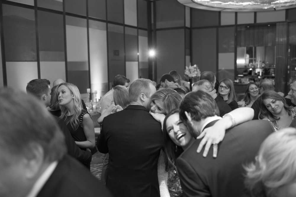 Packed dance floor at Mandarin Oriental Las Vegas Wedding. Las Vegas Wedding Planner Andrea Eppolito.  Image by AltF.
