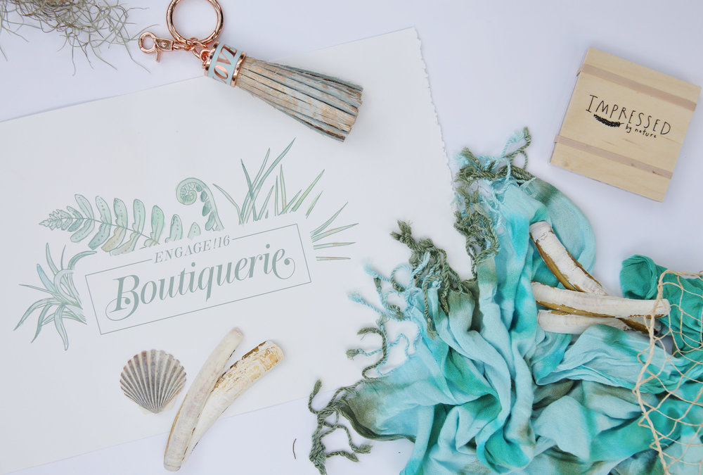Because there is always a Because swag makes people smile!  Engage takes branding to a whole new level, inspiring ideas for gifting and favors at weddings and events.  Photo by Laura Dee.