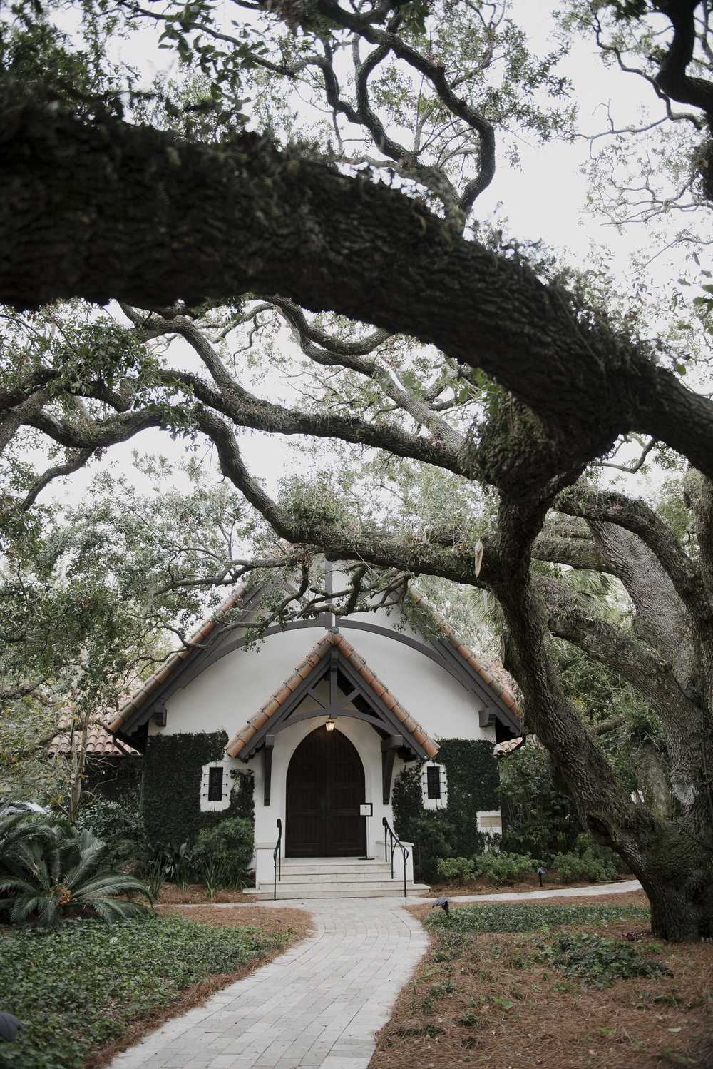 A chapel in the woods is the absolute hight of charming and romantic.  Could you even imagine getting married here?  Photo by Carla Ten Eyck.