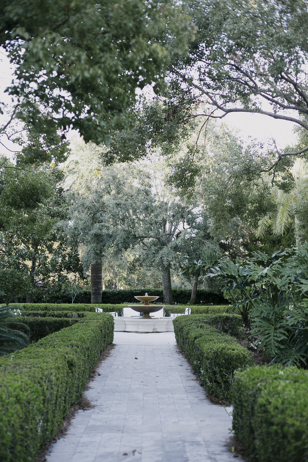 The Cloister at Sea Island.  Photo by Elisha Coleman of Love Life Images.