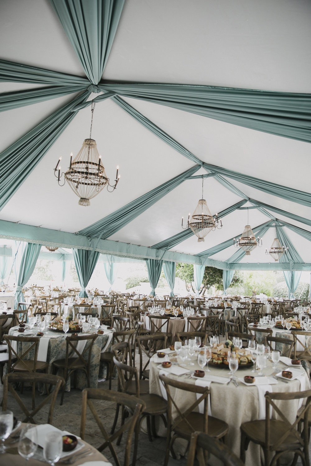 Tented lunch, here I come!  Photo by John Cain Sargent.