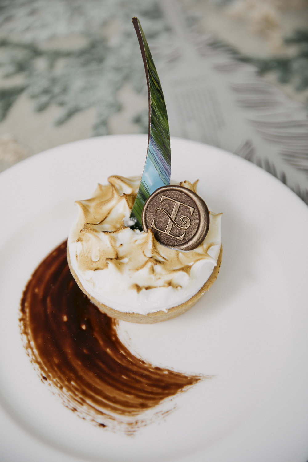 Because a S'Mores tart feels so right.  Photo by John Cain Sargent.