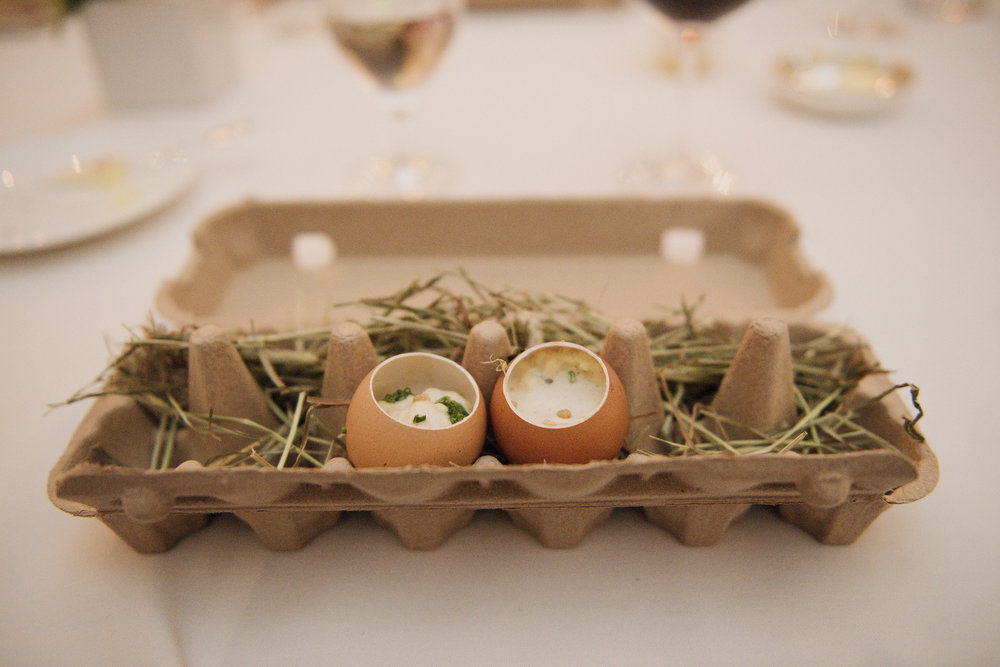 The best eggs I have ever had...In the cutest presentation.  Photo by Gigi de Manio.