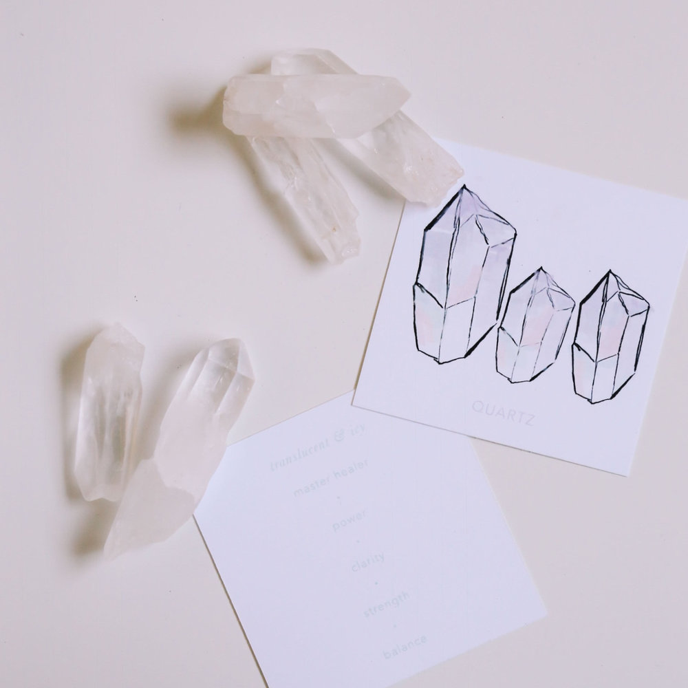 Crystals and quartz are full of healing powers; perfect for your bridesmaids. Las Vegas Wedding Planner Andrea Eppolito works with Shop Box Fox to prepare hand curated, luxe gifts for brides, grooms, and their bridal party members. Photo courtesy of ShopBoxFox.com.