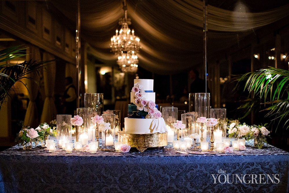 Wedding Cake by La Valencia.  Photo by The Youngrens.