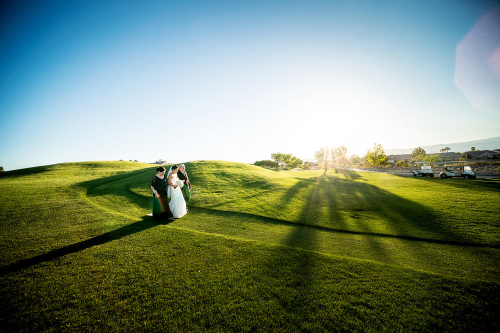Wedding Proessional at Golf Course. Las Vegas Wedding Planner Andrea Eppolito.  Photo by Studio JK.