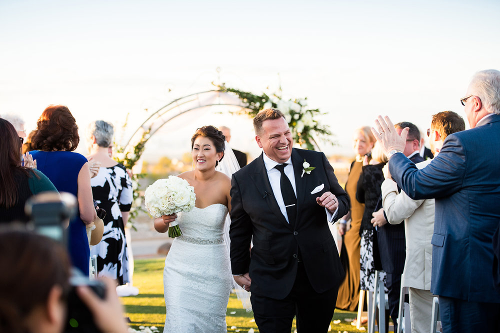 Mr. and Mrs. Harwell. Las Vegas Wedding Planner Andrea Eppolito.  Photo by Studio JK.
