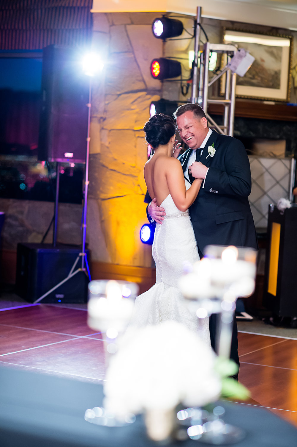 The first dance. Las Vegas Wedding Planner Andrea Eppolito.  Photo by Studio JK.
