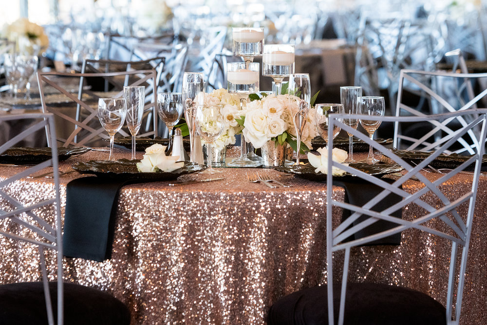 Blush and black wedding color palette.  Las Vegas Wedding Planner Andrea Eppolito.  Photo by Studio JK.