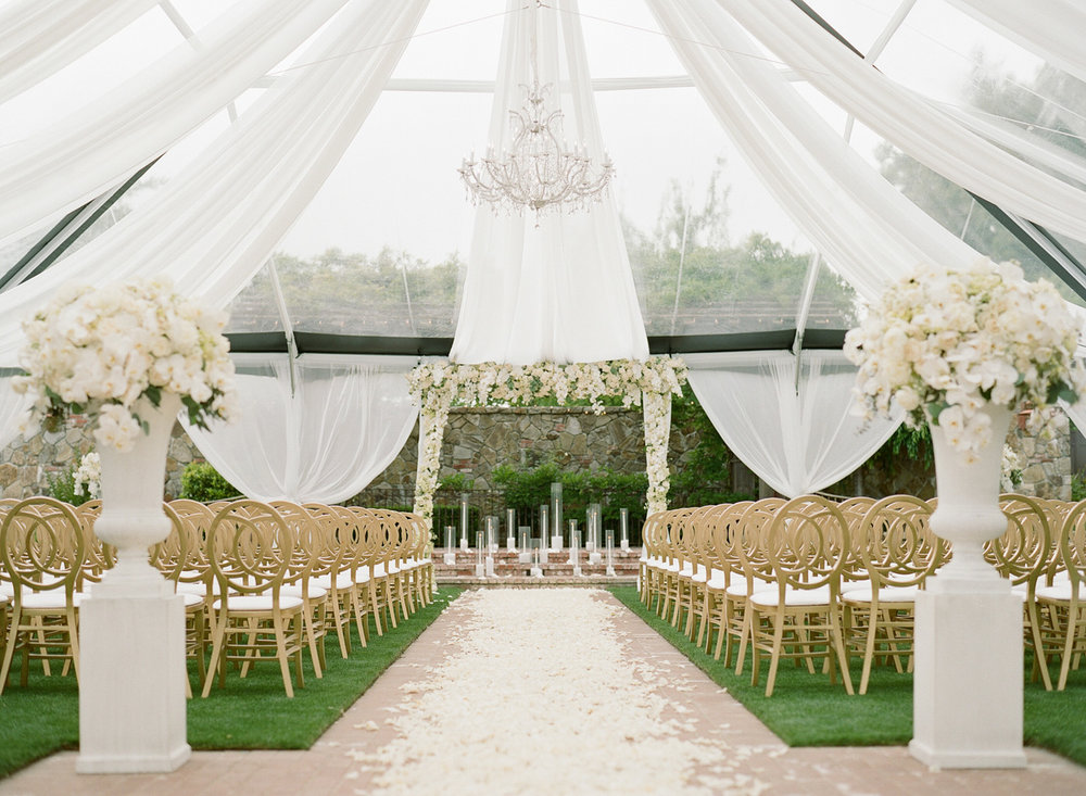 Introducing The Estate Yountville. Wedding Planning & Event Design by Cole Drake Events.Photo by Sylvie Gil Photography.