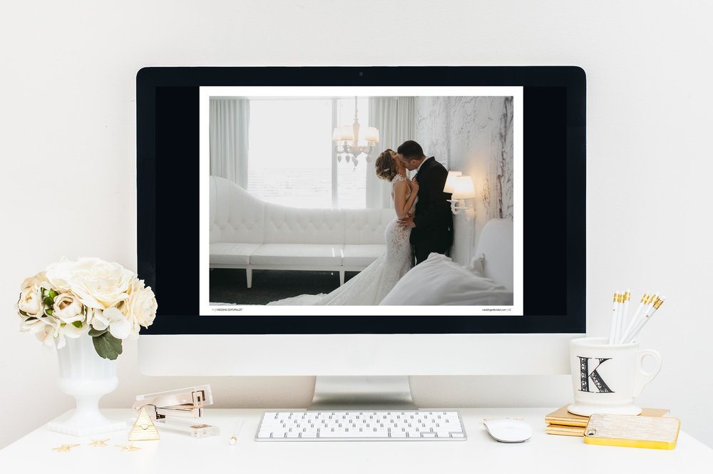 Centerfold image on the digital wedding magazine:  www.weddingeditorialist.com