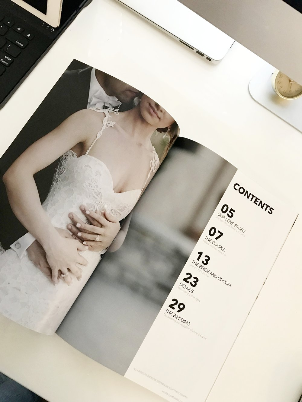 Have your wedding featured in a printed magazine:  www.weddingeditorialist.com