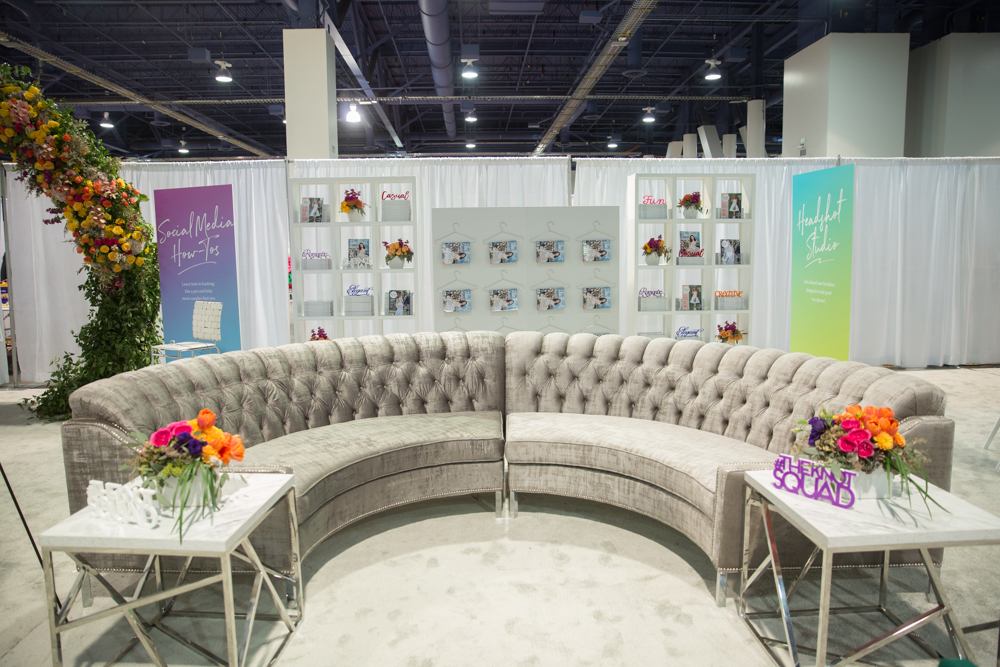 Forever honored to be a creative partner for The Knot.  Las Vegas Wedding Planner Andrea Eppolito.  Booth and Event Design by Destinations by Design.  Photos by Stephen Salazar.