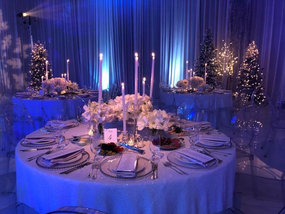 Russian winter wonderland wedding at Bellagio Las Vegas.  Produced by Las Vegas Wedding Planner Andrea Eppolito.