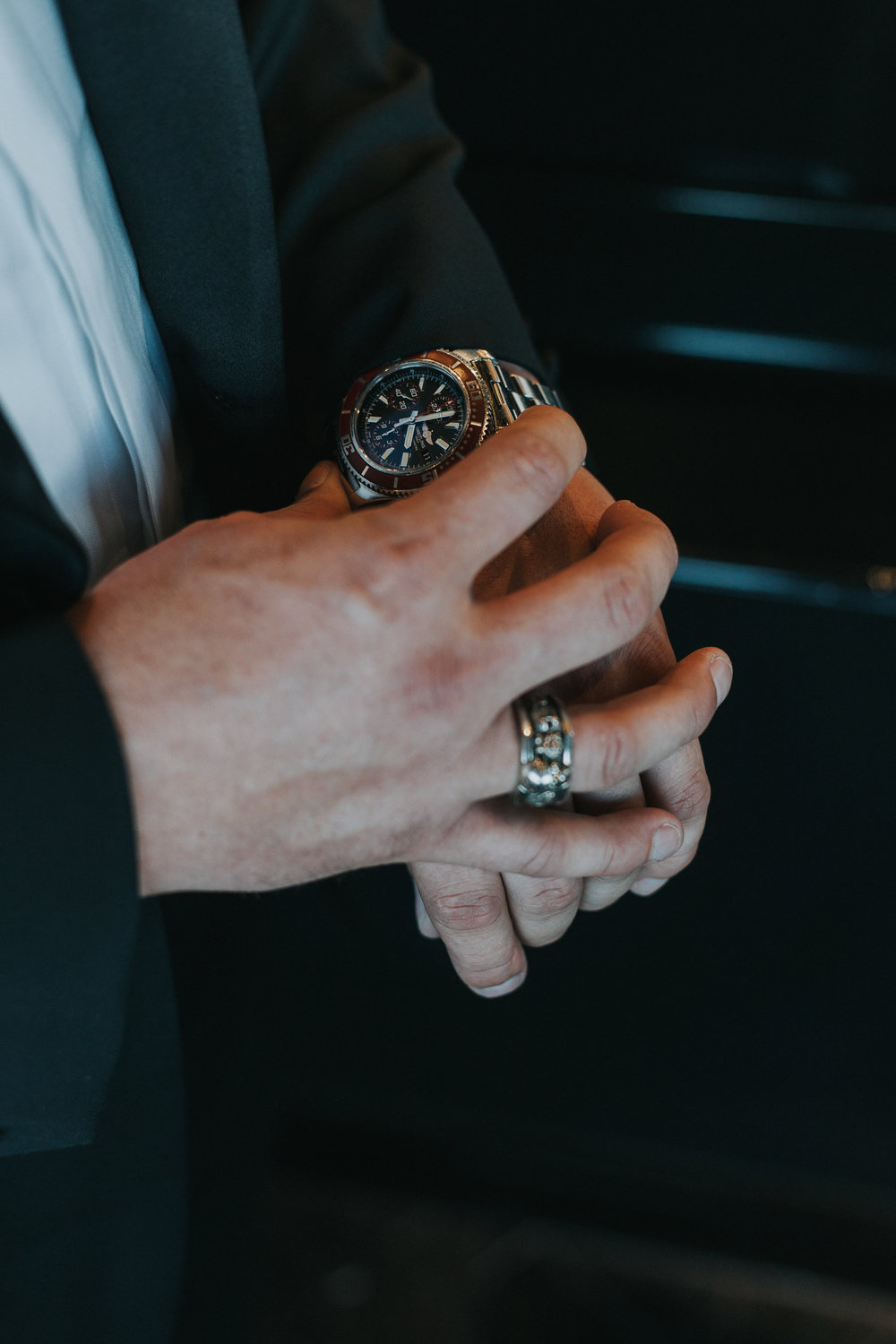 Groom's Watch and Accessories